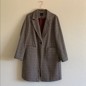 New Look check houndstooth coat